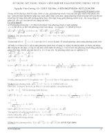 Sử dụng kĩ năng nhân liên hợp để giải phương trình vô tỉ
