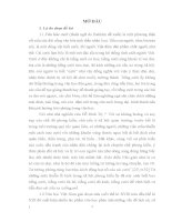 luận văn tốt nghiệp sư phạm đề tài lịch sử văn hóa Ngôn ngữ trào phúng trong Hoàng Lê nhất thống chí của Ngô gia văn phái
