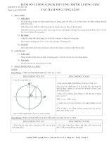 giáo án môn toán lớp 11 đầy đủ