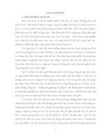 luận văn sư phạm Vận dụng tư tưởng đạo đức Hồ Chí Minh vào việc giáo dục đạo đức cho sinh viên trường Đại học Sư phạm Hà Nội trong giai đoạn hiện nay