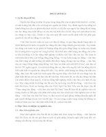 luận văn tốt nghiệp đề tài nghiên cứu Thực trạng lao động – việc làm của tỉnh Hà Nam