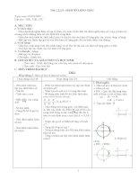 Giáo án phụ đạo toán 11 đầy đủ