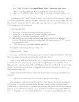 BÀI THỰC HÀNH 6 Phác thảo kế hoạch ĐTPT nhân viên hành chính