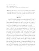 luận văn hay báo chí phân tích, đánh giá thực trạng thi hành 9 điều quy định về đạo đức nghề nghiệp của người làm báo Việt Nam, từ đó đề xuất một số giải pháp nhằm tăng hiệu lực của quy định về đạo đức nghề nghiệp của người  làm báo Việt Nam