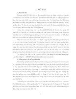 luận văn ngành sư phạm chuyên ngành lịch sư đại học sư phạm hà nội Sử dụng Phương Pháp trò chơi trong dạy học Địa lí lớp 11 – THPT