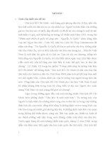 luận văn hay đại học sư phạm tư tưởng hồ chí minh Đảng ta vận dụng tư tưởng Hồ Chí Minh về văn hóa trong sự nghiệp công nghiệp hóa, hiện đại hóa nước ta hiện nay (1986  nay)
