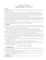 ÔN học sinh giỏi văn 9 chuyên đề Truyện Kiều