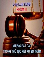 Bất cập trong thủ tục xét xử các vụ án dân sự