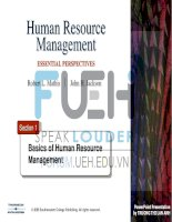 human resources management _ section 1-basics of hrm