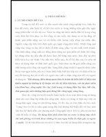 SKKN GIÁO DỤC HỌC SINH Ý THỨC SỬ DỤNG ĐIỆN AN TOÀN THÔNG QUA BÀI HỌC AN TOÀN ĐIỆN TRONG MÔN CÔNG NGHỆ LỚP 8