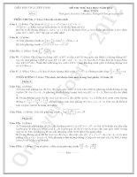 tuyển tập 8 đề thi thử toán ôn thi đại học