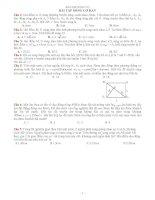 Bài tập sóng cơ hay tổng hợp ( ôn thi đại học)