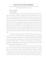 SKKN: MỘT SỐ BIỆN PHÁP NÂNG CAO CHẤT LƯỢNG GIÁO DỤC ÂM NHẠC CHO TRẺ 5 - 6 TUỔI