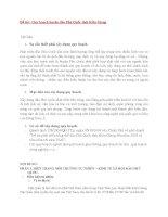 Tiểu luận QHMT : Quy Hoạch Môi Trường Đảo Phú Quốc