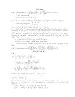 10 Đề thi thử vào lớp 10 môn Toán (Có đáp án)