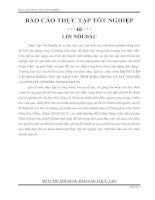 BÁO CÁO THỰC TẬP TỐT NGHIỆP XÂY DỰNG DÂN DỤNG TẠI CÔNG TY CỔ PHẦN VINACONEX 25