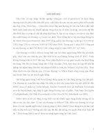 Tiểu luận Thực trạng MA các tổ chức tin dụng tại Việt nam