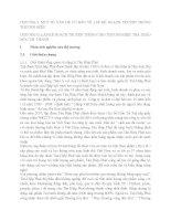 Phân tích kế hoạch truyền thông truyền thông thương hiệu của trà thảo mộc Drthanh