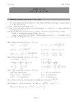 tài liệu học toán đại số và giải tích 11 chuơng 3 phần dãy số  cấp số cộng và cấp số nhân