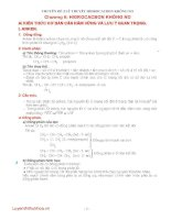 lý thuyết và giải bài tập phần hidrocacbon không no