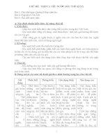 Sản phẩm thảo luận đổi mới kiểm tra đánh giá theo định hướng phát triển năng lực Chuyên đề thơ ca yêu nước đầu thế kỉ 20 Ngữ văn 8 2014