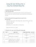 cách viết nhanh số đồng phân và công thức viết nhanh số đồng phân