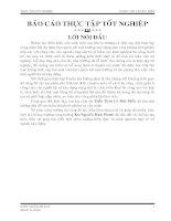 BÁO CÁO THỰC TẬP TỐT NGHIỆP XÂY DỰNG CÔNG TRÌNH NHÀ HÀNG KHÁCH SẠN ÁNH NGUYỆT