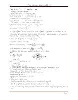 Tóm tắt toàn bộ công thức môn vật lý 12 khổng thể thiếu cho học sinh học tập và ôn thi
