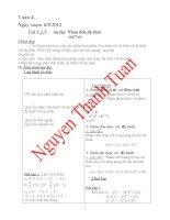 Giáo án phụ đạo toán 6 chuẩn