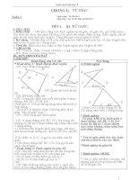 Giáo án hình học 8 chuẩn ktkn