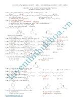 tổng hợp bài tập hóa học phần hidrocacbon thơm