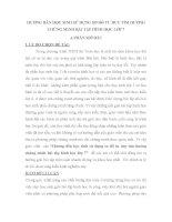 SKKN HƯỚNG DẪN HỌC SINH SỬ DỤNG SƠ ĐỒ TƯ DUY TÌM HƯỚNG CHỨNG MINH BÀI TẬP HÌNH HỌC LỚP 7