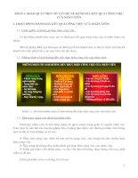 Tiểu luận quản trị nguồn nhân lực KHÁI QUÁT MỘT SỐ VẤN ĐỀ VỀ ĐÁNH GIÁ KẾT QUẢ CÔNG VIỆC CỦA NHÂN VIÊN