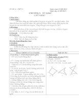 Giáo án hình học lớp 6 cả năm chi tiết