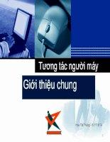giới thiệu về công nghệ tương tác người máy