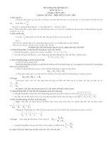 Đề cương ôn tập học kỳ 1 môn vật lý 9   chương i  điện học   tài liệu, ebook, giáo trình