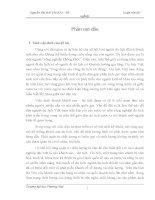 ĐỀ TÀI: Thực trạng quản trị lỗ hổng chất lượng dịch vụ tại công ty khách sạn du lịch Kim Liên