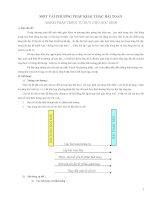 skkn một vài PHƯƠNG PHÁP KHAI THÁC bài TOÁN NHẰM PHÁP TRIỂN TU DUY CHO học SINH