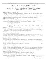 tài liệu ôn thi vật lý lớp 8 tham khảo theo các dạng sưu tầm