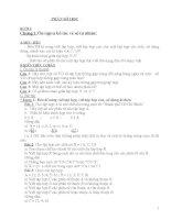 Giáo án dạy buổi 2 Số học 6 chuẩn và nâng cao