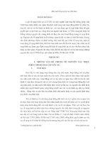 Nguyên tắc thực hiện chế độ hai cấp xét xử trong tố tụng hình sự