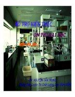tài liệu ôn thi môn hóa - tổng hợp đề thi mẫu đề 14