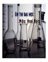 tài liệu ôn thi môn hóa học phần 7