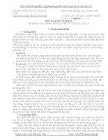 skkn một số kinh nghiệm về giảng dạy phân môn luyện từ và câu lớp 2-3