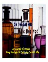 tài liệu ôn thi môn hóa - tổng hợp đề thi mẫu đề 15