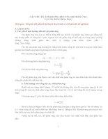 Các yếu tố ảnh hưởng đến tốc độ phản ứng và cân bằng hoá học