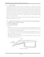 Tính toán vòng vây ngăn nước trong thi công nền móng