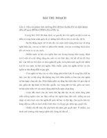 Bài thu hoạch môn tư tưởng Hồ Chí Minh
