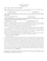 ngữ văn 12.tuần 5. viết bài văn số 2