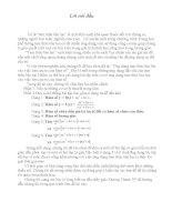 ứng dụng tam thức bậc hai vào việc tìm cực trị của hàm số